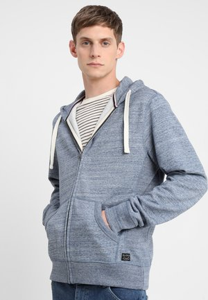 Zip-up hoodie - dark navy blue