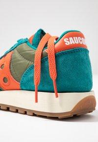 Saucony - JAZZ VINTAGE - Trainers - teal/olive/pink - 7