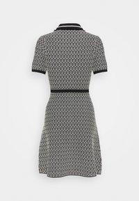 sandro - POLIE - Shirt dress - noir/blanc - 1