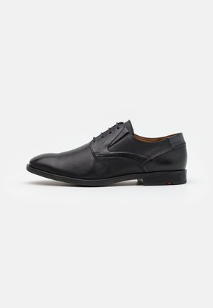 KELSAN - Derbies - black/pacific
