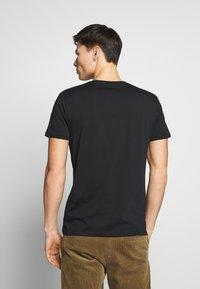 Esprit - LOGO - T-Shirt print - black - 2