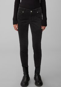 Marc O'Polo - ALBY  - Trousers - black - 0