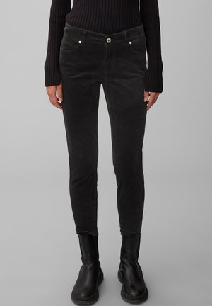 ALBY  - Trousers - black