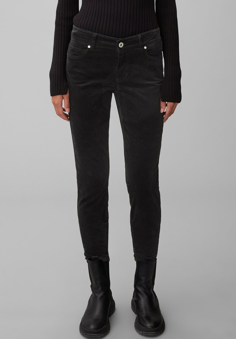 Marc O'Polo - ALBY  - Trousers - black