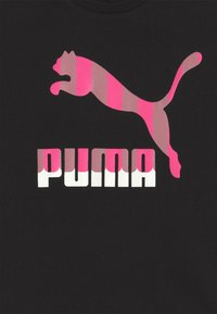 Puma - CLASSICS TEE - Triko spotiskem - black - 2