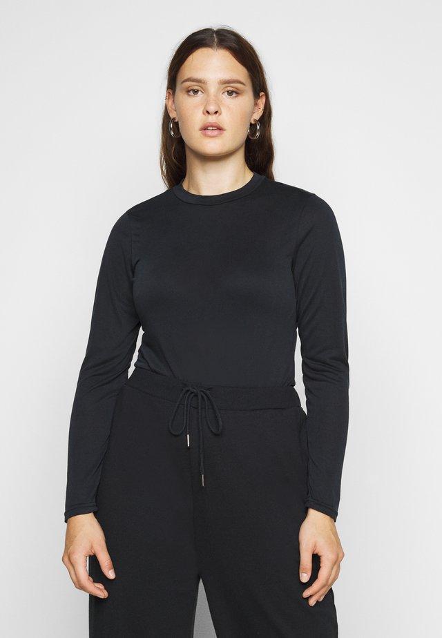 PCREBOLITA BODYSTOCKING - Camiseta de manga larga - black