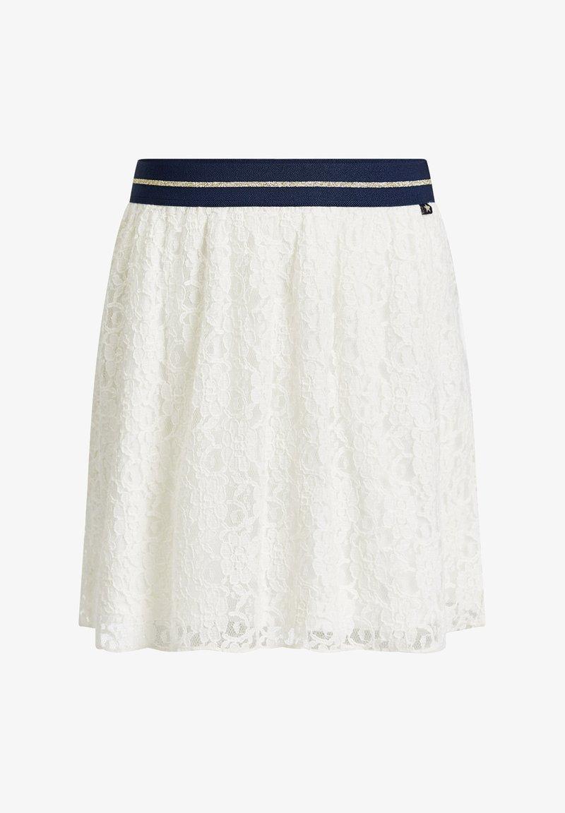 WE Fashion - A-snit nederdel/ A-formede nederdele - white