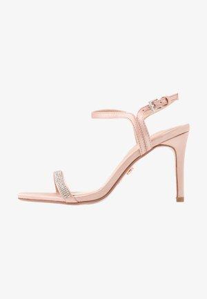 BLINK PART  - Sandály na vysokém podpatku - blush
