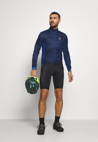 ODLO - JACKET ZEROWEIGHT DUAL DRY - Windbreaker - estate blue - 1