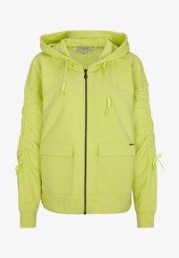 comma casual identity - Zip-up sweatshirt - lime - 5