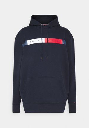 LOGO HOODY - Sweat à capuche - blue