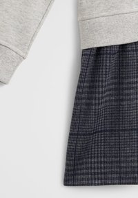 Mango - CONTRASTING PRINT - Day dress - medium heather grey - 2