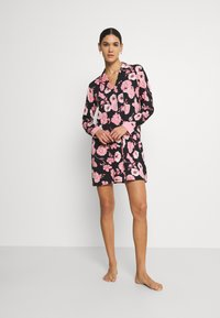 LASCANA - NIGHTGOWN - Camicia da notte - black/rose - 1