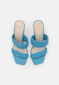 Trendyol - Heeled mules - blue - 4