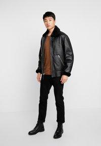 Schott - Leather jacket - black - 1