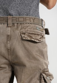 Superdry - CORE CARGO HEAVY - Shorts - dust cloud - 4