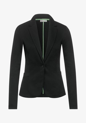 BUSINESS JERSEY - Blazer - grau