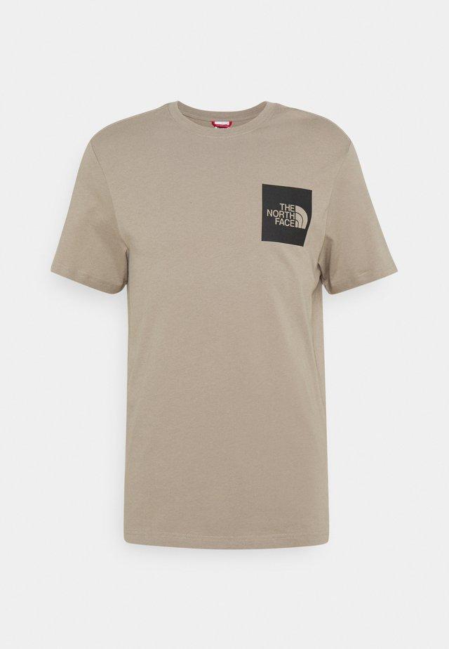 FINE TEE - T-shirts med print - mineral grey