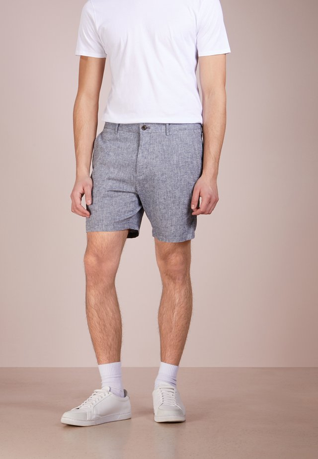 BAXTER CHAMBRAY - Shorts - blue