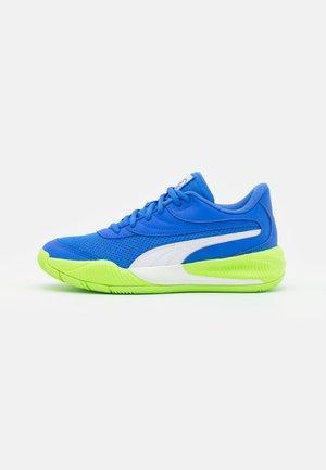 TRIPLE JR UNISEX - Basketball shoes - bluemazing/green glare