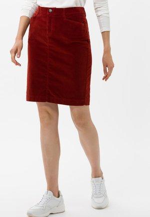 STYLE KEIRA - Pencil skirt - cinnamon