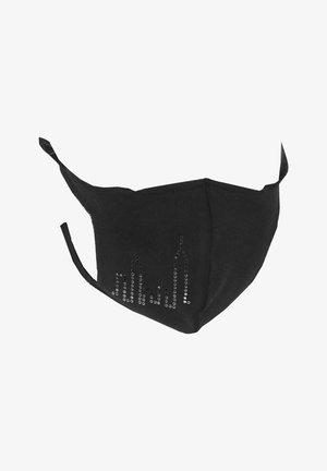 SKYLINE - Stoffmaske - schwarz