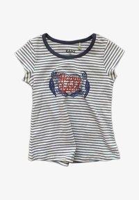 Kanz - Print T-shirt - blue - 0