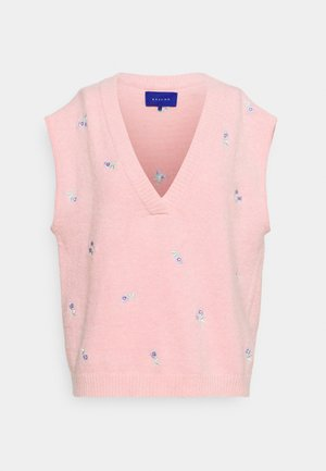 DALLI VEST - Jumper - pink
