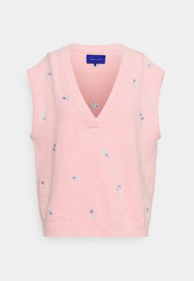 DALLI VEST - Svetr - pink