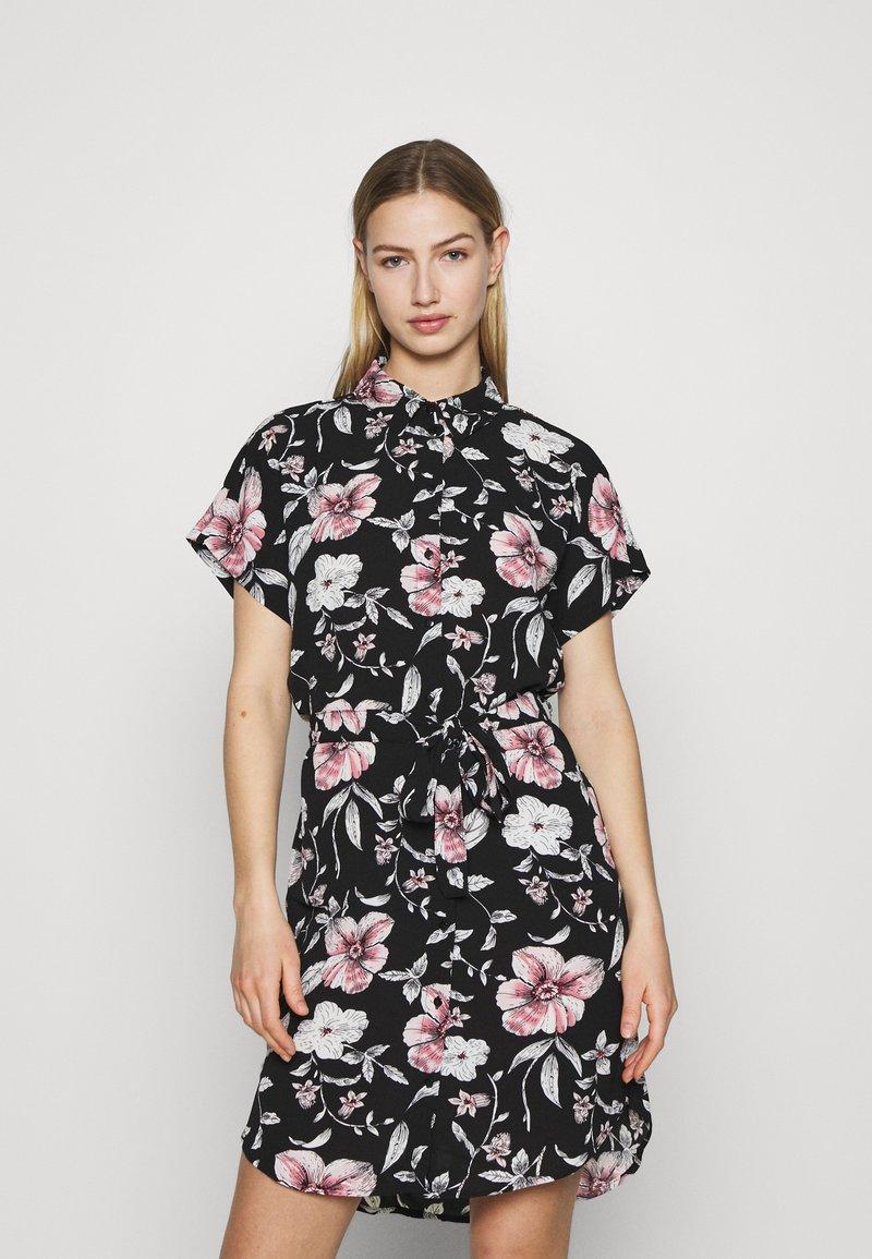 Vero Moda - VMSAHANNA DRESS - Košilové šaty - black