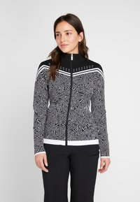 Icepeak - EMELLE - Zip-up hoodie - black/white - 0