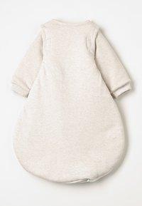Jacky Baby - MIT ABNEHMBAREN ÄRMELN HELLO WORLD - Baby's sleeping bag - beige melange - 1