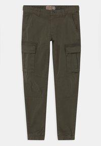 Petrol Industries - Cargo trousers - dark army - 0