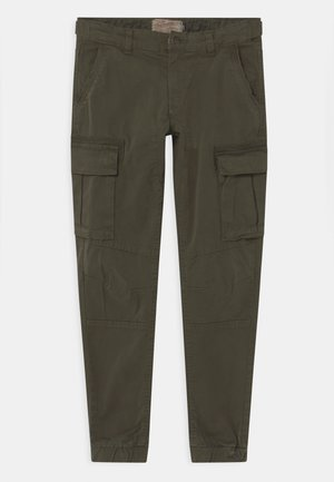 Cargo trousers - dark army