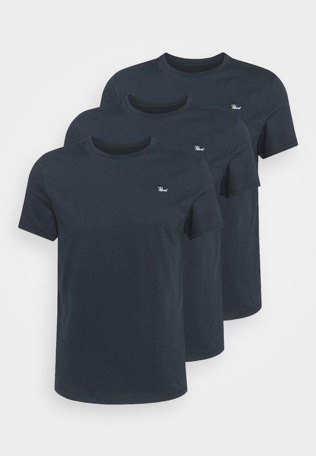 SPECIAL 3 PACK - T-shirt basic - dark navy