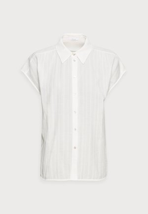 FASPI - Button-down blouse - milk