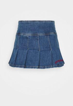 KILT SKIRT - Mini skirt - dark vintage