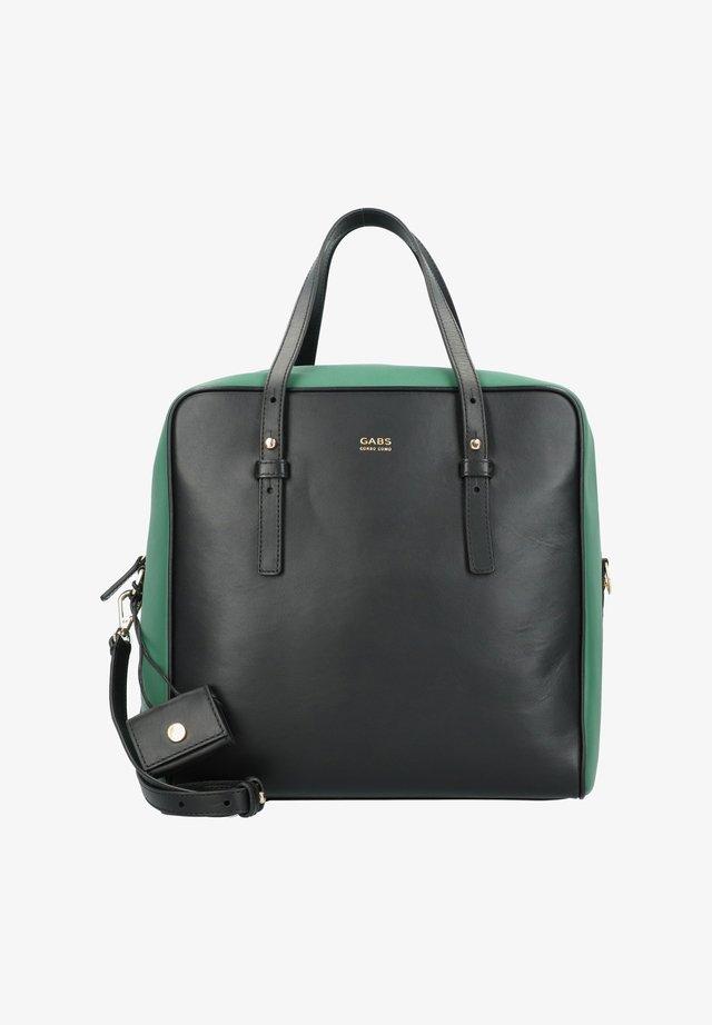 JENNIFER - Handbag - black-forest green