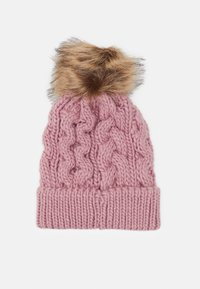 Barbour - PENSHAW CABLE BEANIE - Beanie - pink - 2