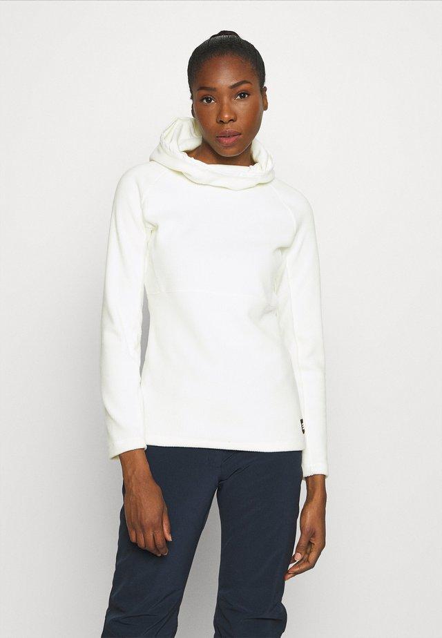 SOLO - Jersey con capucha - powder white