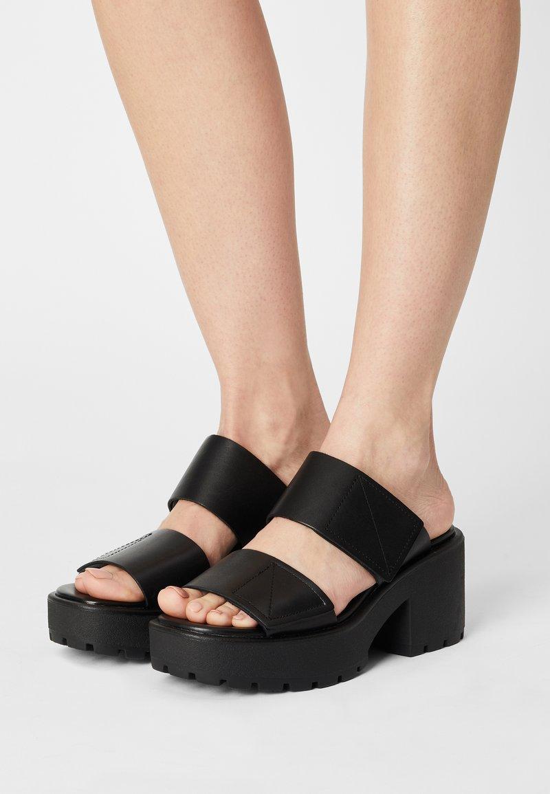 Vagabond - DIOON - Pantofle na podpatku - black