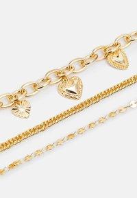 Pieces - PCSEMANTHA BRACELET 3 PACK - Bracelet - gold-coloured - 2