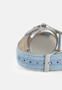 Guess - Watch - silver-coloured/ blue denim - 1