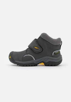 KOOTENAY III MID WP UNISEX - Winter boots - black/yellow