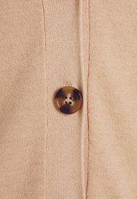 NA-KD - STEPHANIE DURANT BUTTONED CARDIGAN - Cardigan - beige - 6