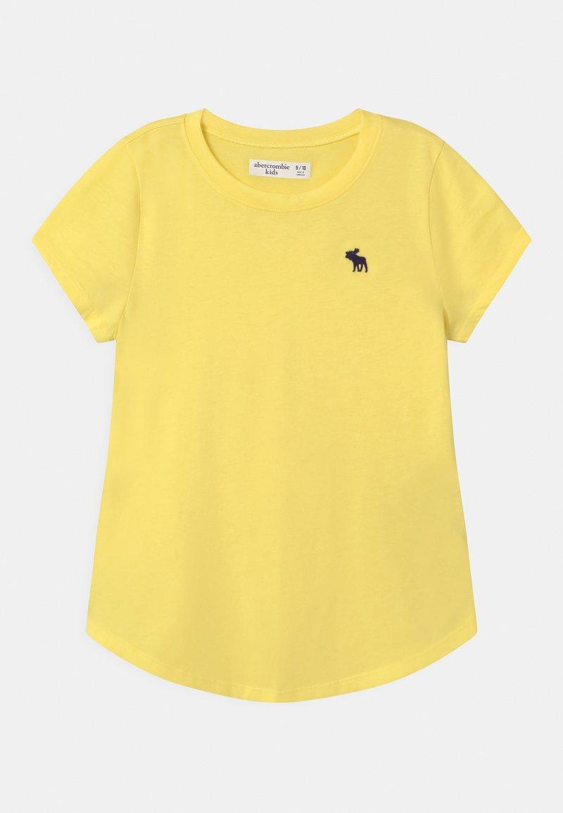 Abercrombie & Fitch - CORE CREW - Jednoduché triko - yellow