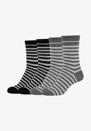 4 PACK - Socks - dark grey melange