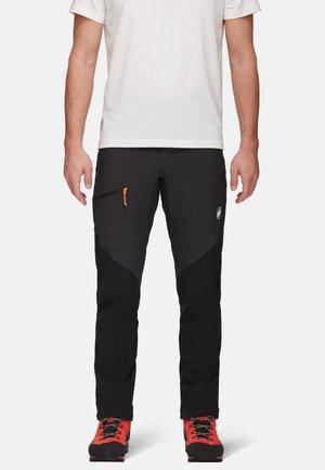 COURMAYEUR - Pantaloni outdoor - black