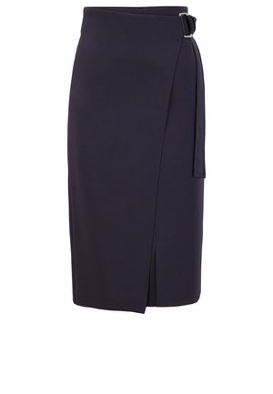 VAMENEO - A-line skirt - open blue