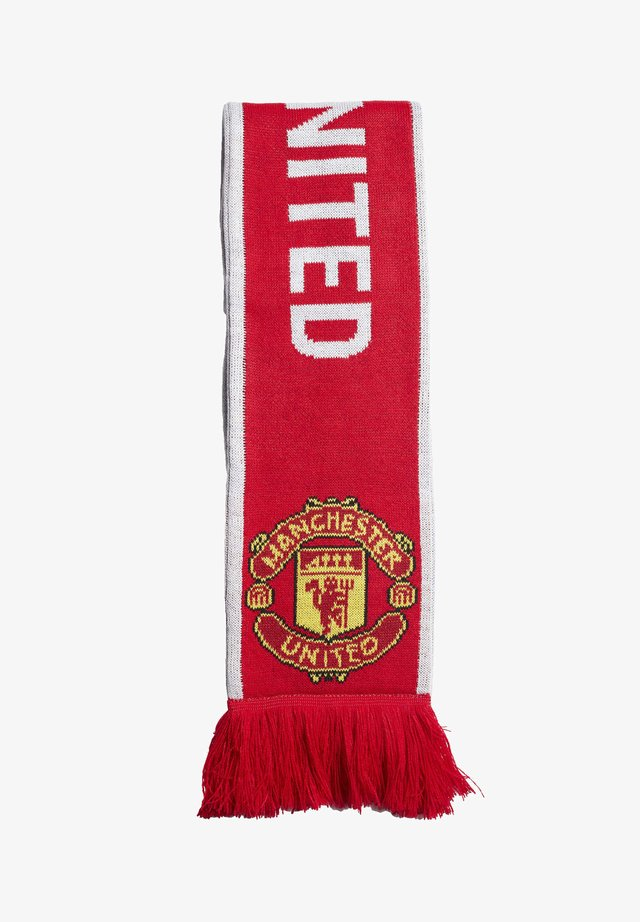 MANCHESTER UNITED SCARF - Sjal - red